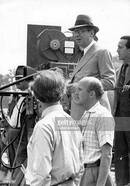 Hungarianborn director and producer Sir Alexander Korda on the set of his latest film His works include 'The Third Man' and 'Richard III' his first...