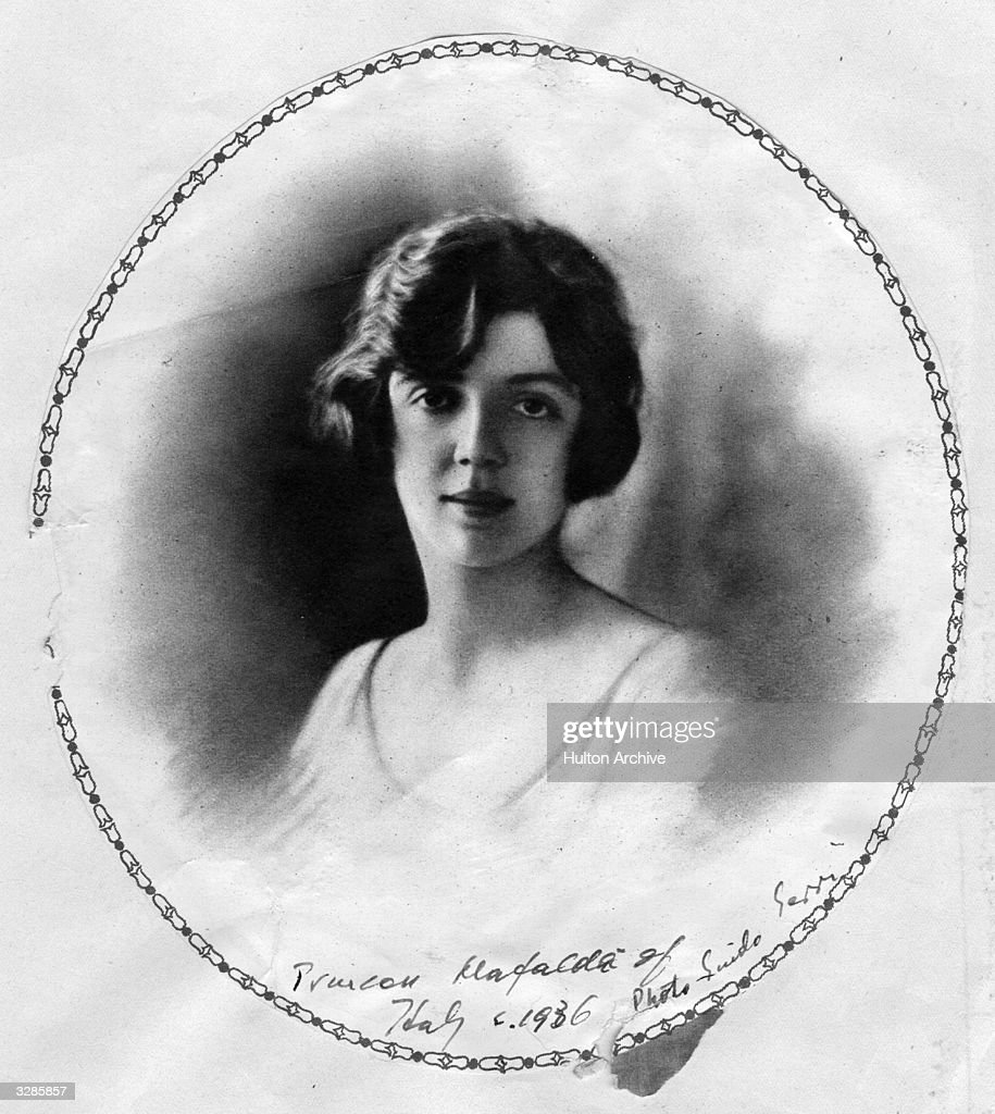 Princess Mafalda of Italy (1902 - 1944) who married Prince Philipp, Landgrave of Hesse in 1925.