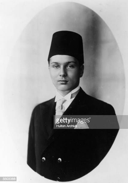 Farouk I king of Egypt from 1937 to 1952