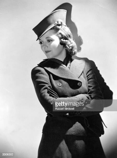 Janet Gaynor the screen name of Laura Gainer a Fox Films Hollywood actress who played in 'A Star is Born' for Selnick International