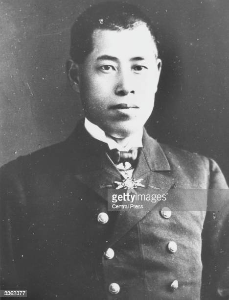 Japanese rear admiral Isoroku Yamamoto commander and architect of the Japanese attack on Pearl Harbour