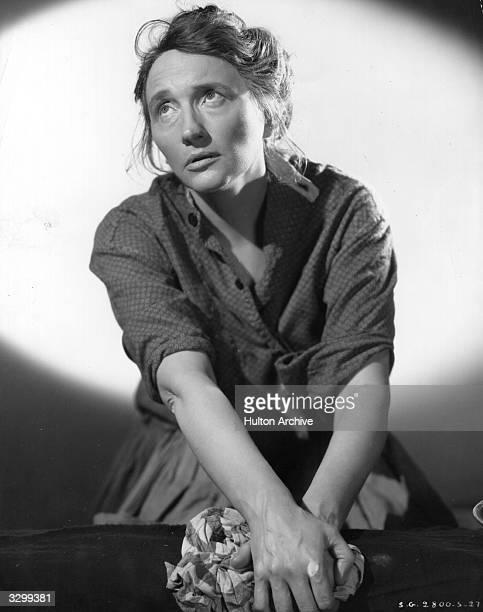 Marjorie Main stars in the film 'Stella Dallas' a remake of the silent 1926 version