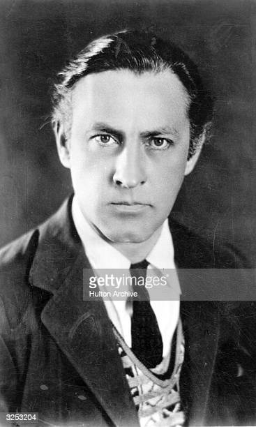 American actor John Barrymore the younger brother of Lionel Barrymore He appeared in many films but never distinguished himself as well as his...