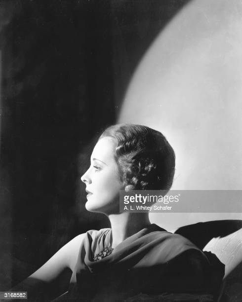 American actress Mary Astor , who made her movie debut in 'Scarecrow' at the age of fourteen.