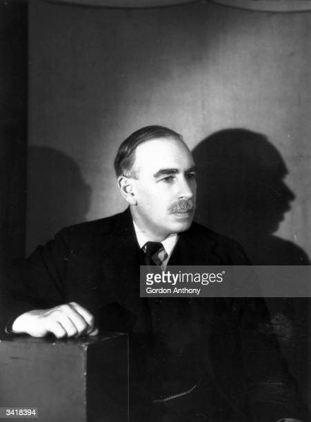 British economist and the founder of 'Keynsian economics', John Maynard Keynes .