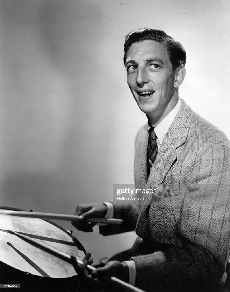 Eccentric dancer and drummer Ray Bolger (1904 - 1987) who appeared in the film 'The Great Ziegfeld' and most famously played the role of Scarecrow in 'The Wizard of Oz'.