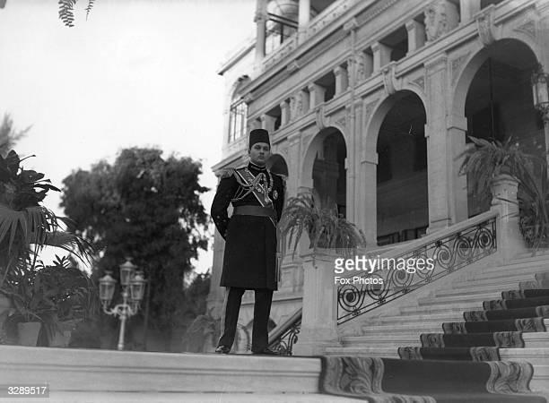 King Farouk I of Egypt