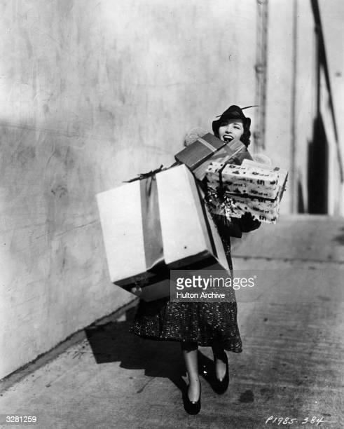 Marsha Hunt American leading lady burdened with Christmas presents