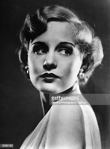 Screen and stage actress Madge Evans who began her career as a child star at the age of five