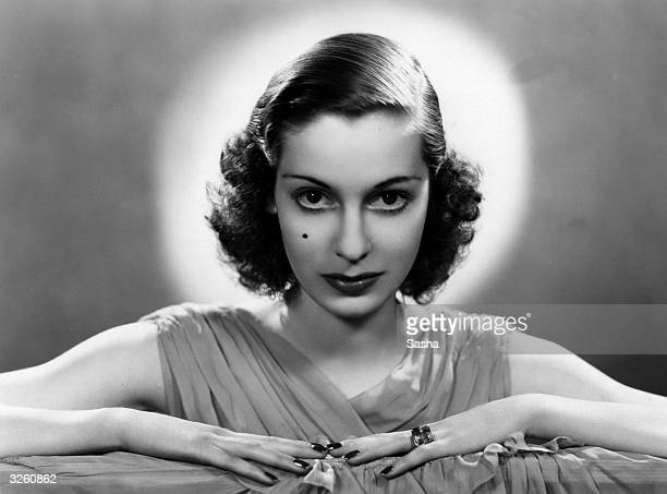 Valerie Hobson the British leading lady