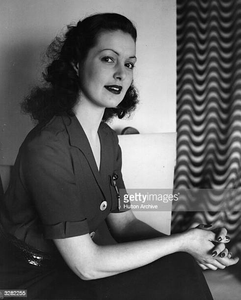 British actress Patricia Roc formerly Felicia Riese
