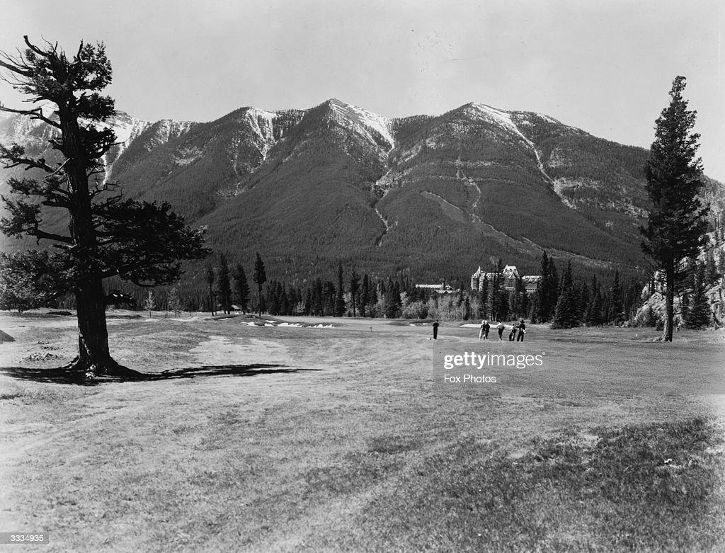 Golf At Banff : News Photo