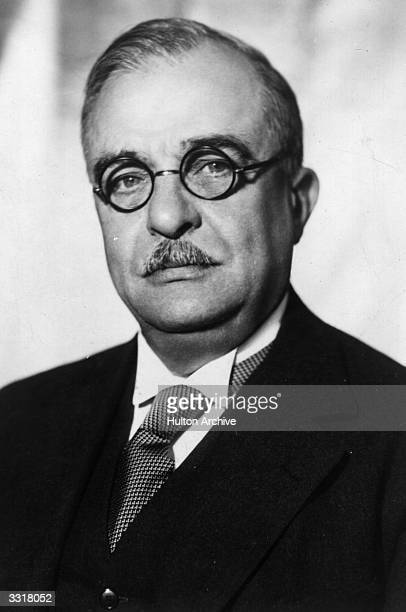 Greek general and dictator John Metaxas or Ioannis Metaxas