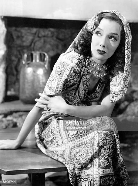 Lupe Velez the leading lady who was married to actor Johnny Weissmuller from 1933 1938 and committed suicide after a love affair turned sourShe is...