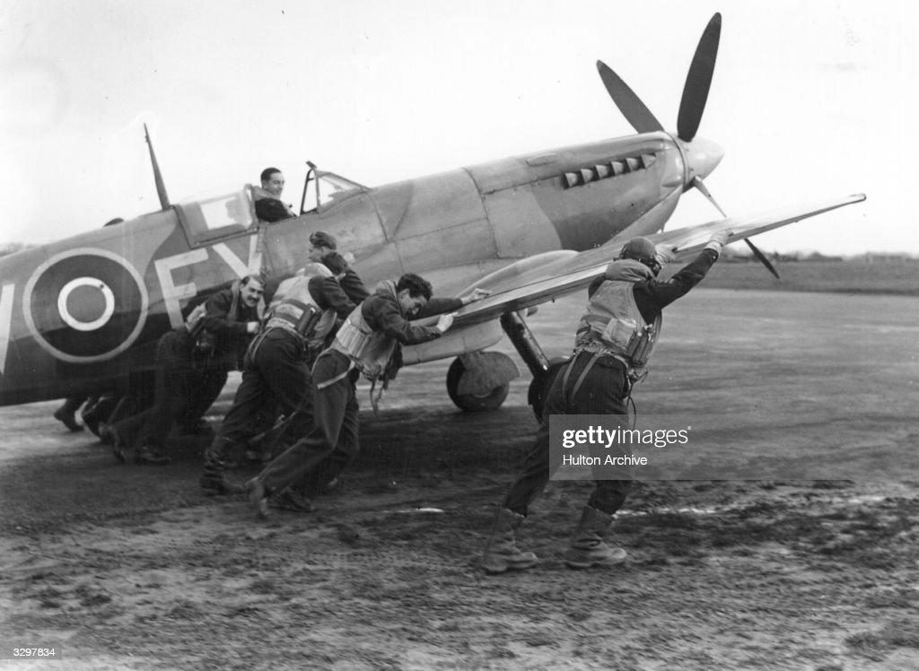 Battle Of Britain Spitfire