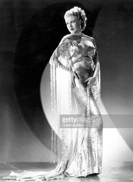 Actress and dancer Ginger Rogers formerly Virginia Katherine McMath