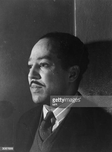 African-American poet and writer, Langston Hughes . Although born in Joplin, Missouri, he was a central figure in the Harlem renaissance.