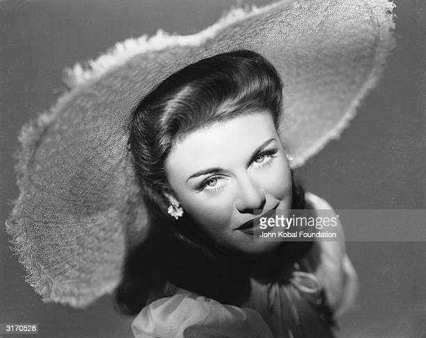 American dancer and actress Ginger Rogers who was born Virginia Katherine McMath but acquired her famous screen name from a young cousin's inability...