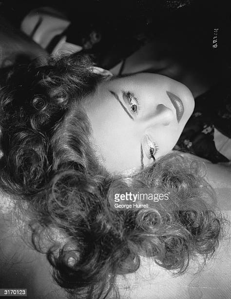American film star Bette Davis best known for her roles in 'All About Eve' and 'Whatever Happened to Baby Jane'