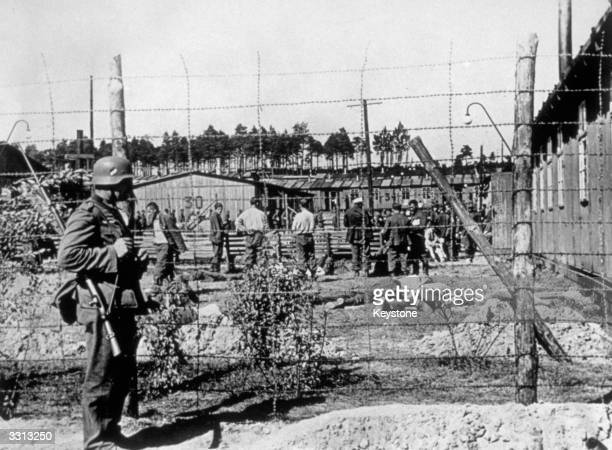 An unnamed concentration camp in Poland