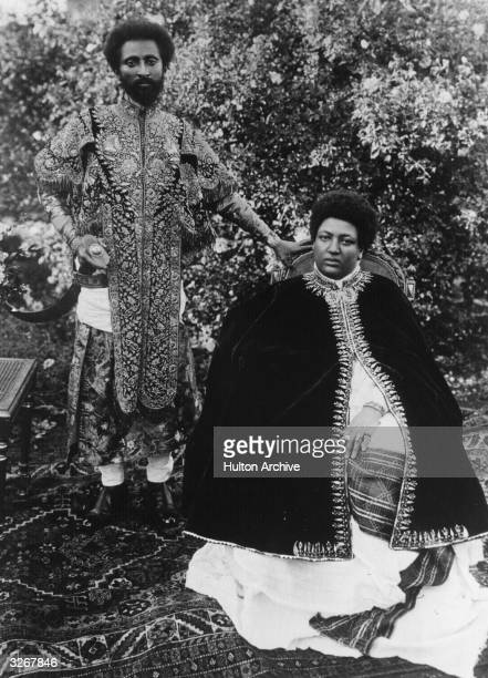 Empress Menen Of Ethiopia Stock Photos and Pictures ... Conquering Lion Of Judah