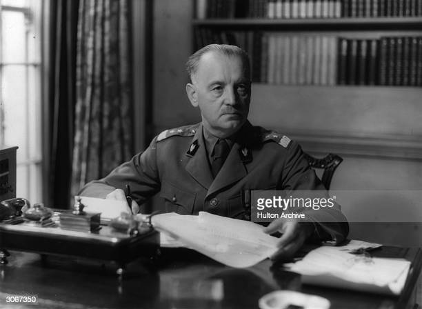 General Wladyslaw Sikorski the leader of the Polish government in exile and Polish forces in England