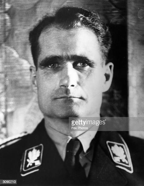German Nazi and member of the Third Reich's high command Rudolf Hess