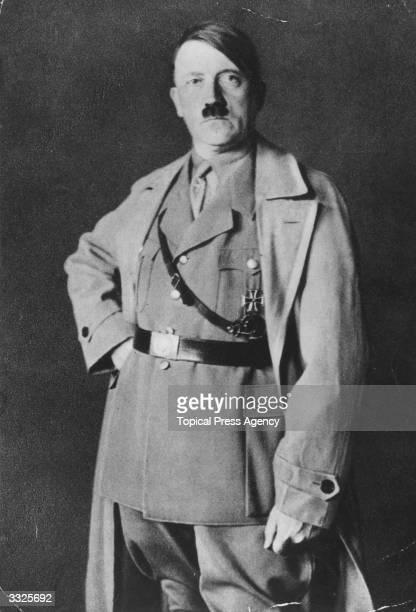 German political and government leader Adolf Hitler