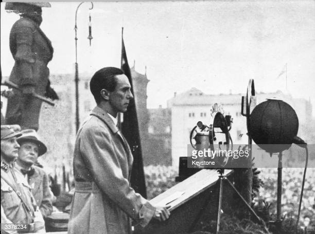 Joseph Goebbels Stock Photos And Pictures Getty Images