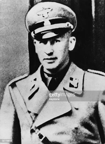 Reinhard Heydrich Nazi politician and Deputy Chief of the Gestapo also known as 'The Hangman'
