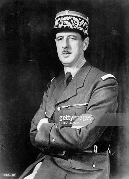 The French general and first president of the Fifth Republic Charles Andre Joseph Marie de Gaulle After the fall of France in June 1940 he fled to...