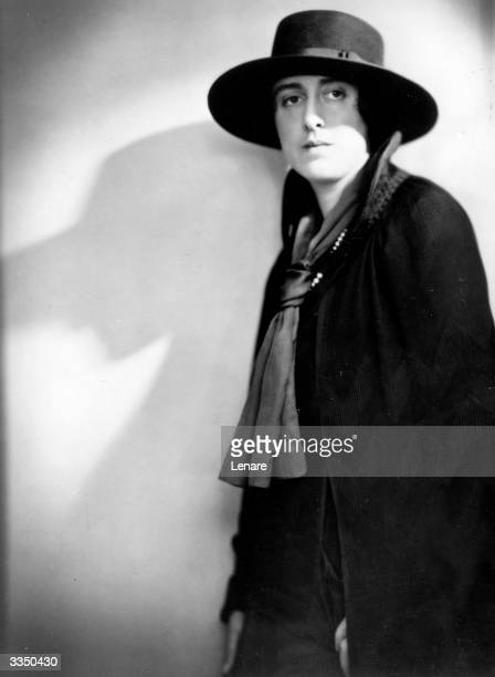Vita Sackville West an English novelist who was the model for Virginia Woolf's 'Orlando' She married the diplomat Harold Nicolson in 1913