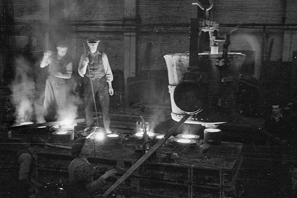 Foundry Workers Wall Art