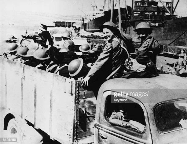 Australian and New Zealand nursing sisters arrive in Crete after evacuation from the Greek mainland. Some of the nurses were wounded in a bombing...