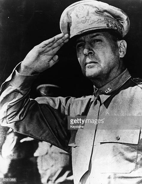 General Douglas MacArthur is in charge of the United States Army Unit in the East