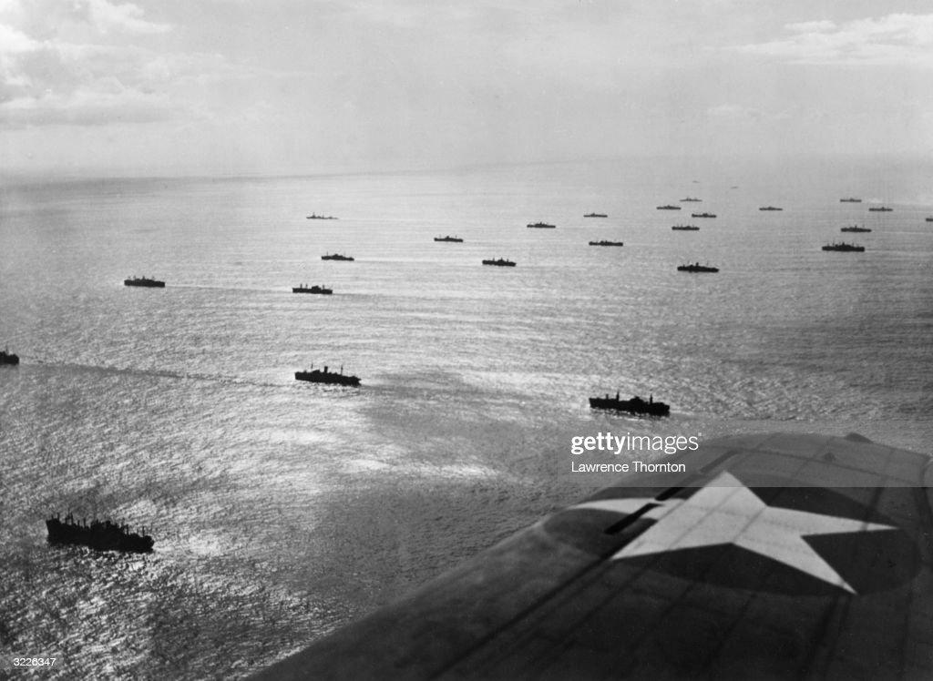 UN Atlantic Convoy : News Photo