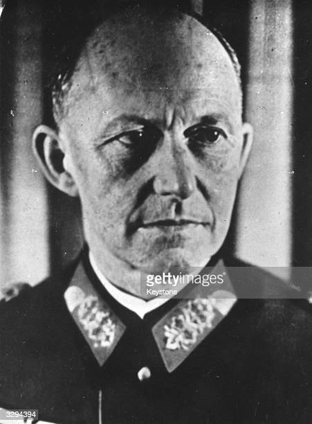 General Alfred Jodl planning genius of the German High Command and one of Hitlers chief advisors