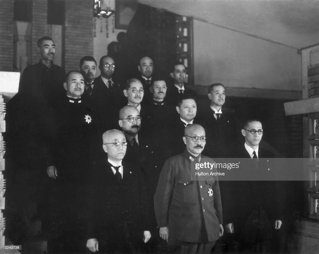 Japanese Prime Minister Hideki...