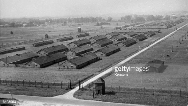 A Polish prisonerofwar camp