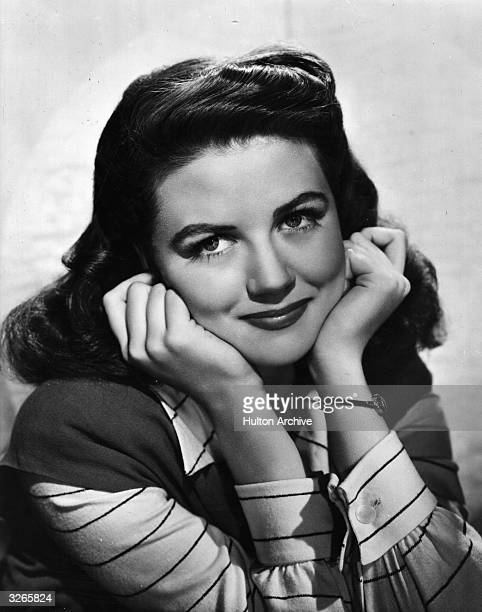 Dorothy Malone the Hollywood film actress who later starred in the popular television series 'Peyton Place'