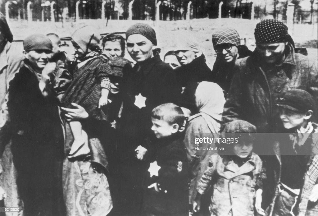 Jewish Arrivals : News Photo