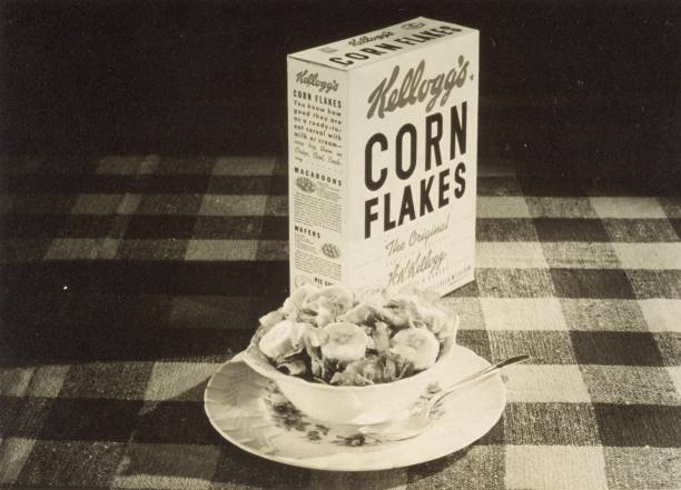 MI: 8th August 1894 - Corn Flakes Cereal Invented by the Kellogg Brothers