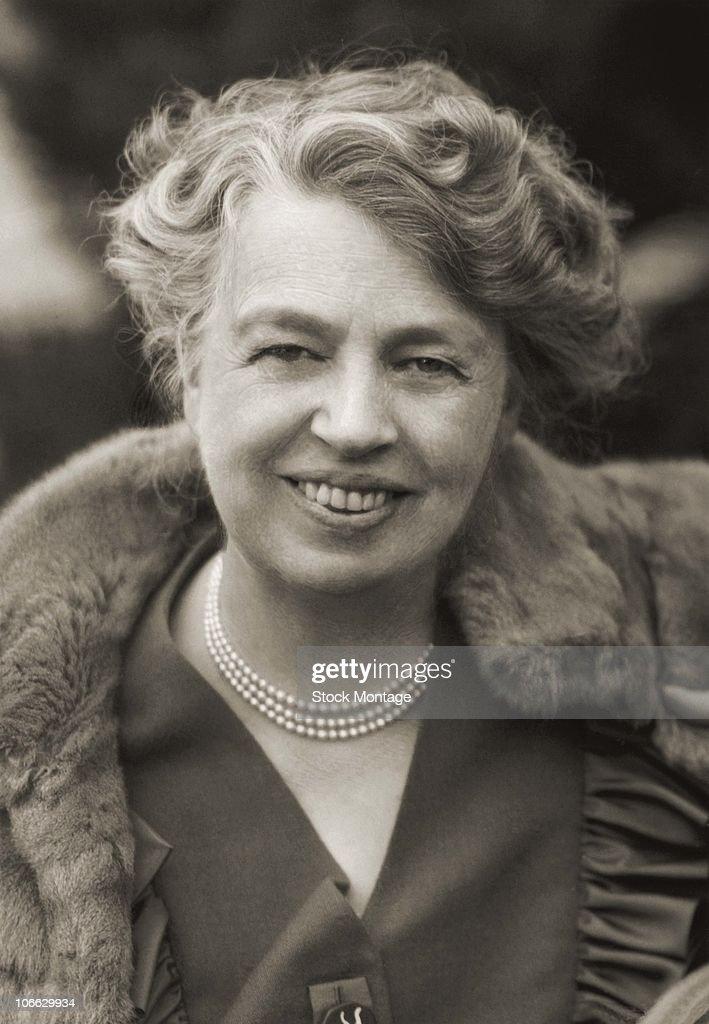 Portrait Of Eleanor Roosevelt : News Photo