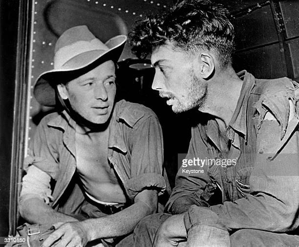 Under the command of Brigadier Charles Orde Wingate these two Australian soldiers were part of a small force which penetrated more than 200 miles...