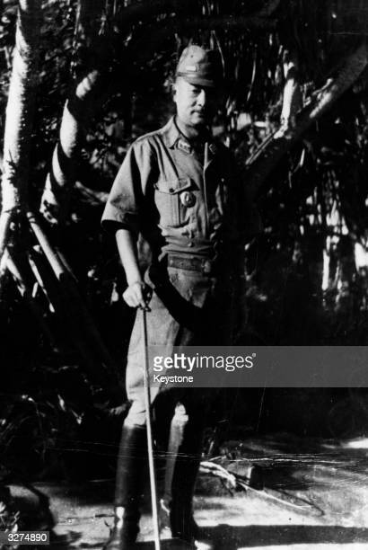 General Tadamichi Kuribayashi the Japanese Imperial Army Commander of the forces which clashed with the Americans on Iwo Jima in 1945 The Americans...