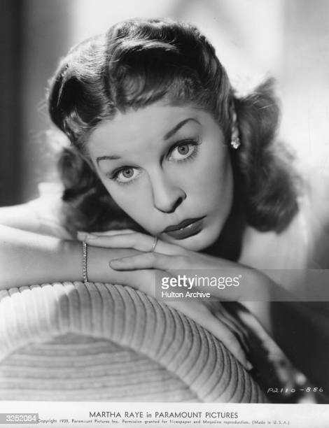 Martha Raye the stage name of Maggie O'Reed the American comedienne and vocalist who made a number of films in the 40's