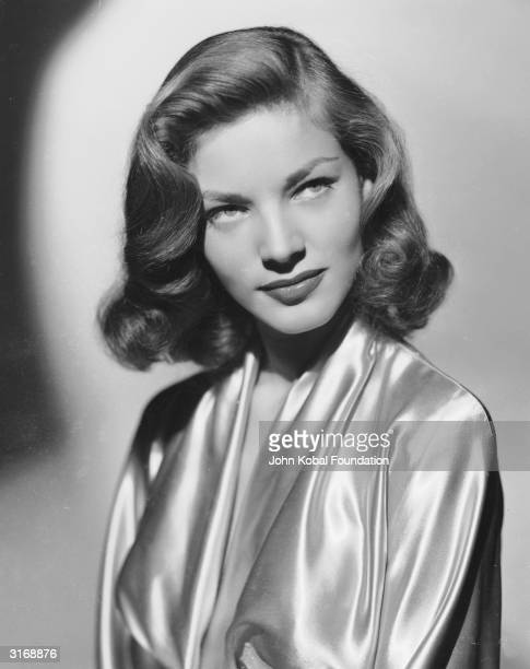American screen star Lauren Bacall whose famous marriage to Humphrey Bogart lasted until his death in 1957