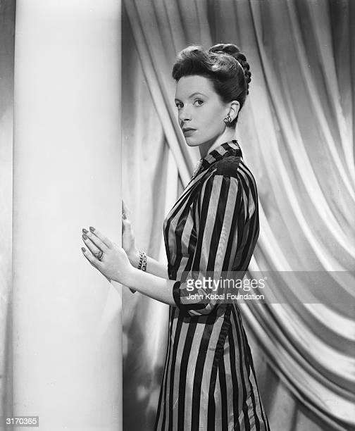 British actress Deborah Kerr, who began her career as a ballerina at Sadler's Wells.