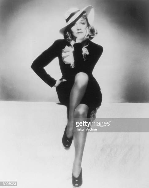 Germanborn actress Marlene Dietrich