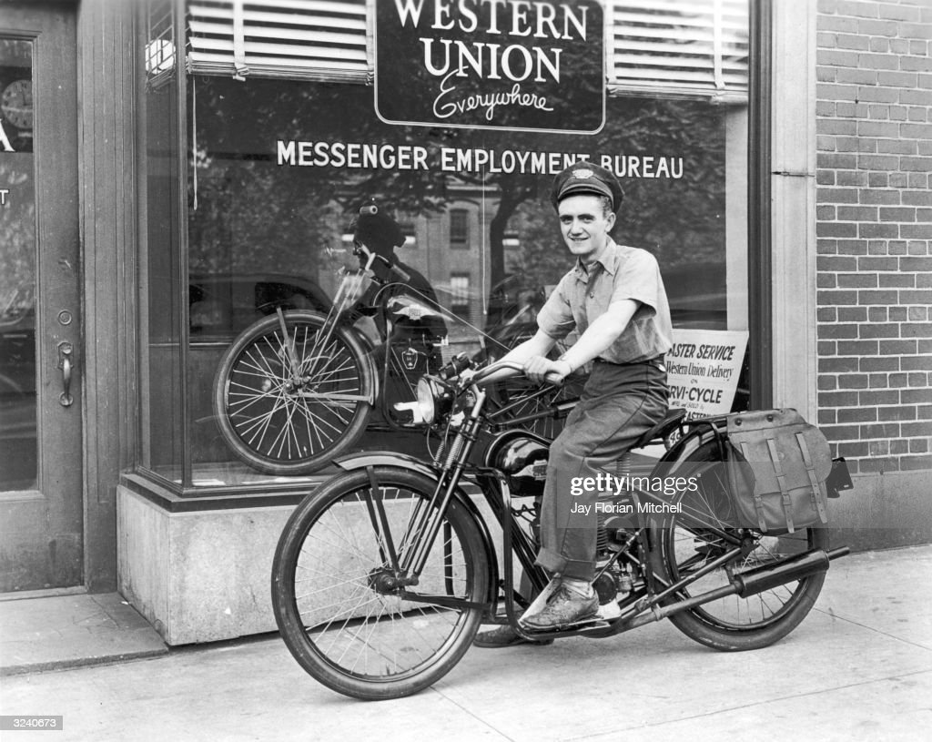 Western union pictures getty images